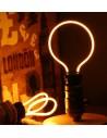 Пример свечения светодиодной филаментной лампы Geometric Y E27 4,5W 2300K