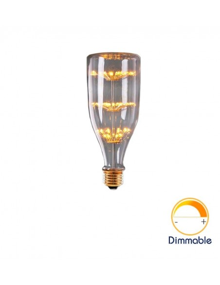 Светодиодная декор лампа Big Bottle Firework E27 3W 2200K