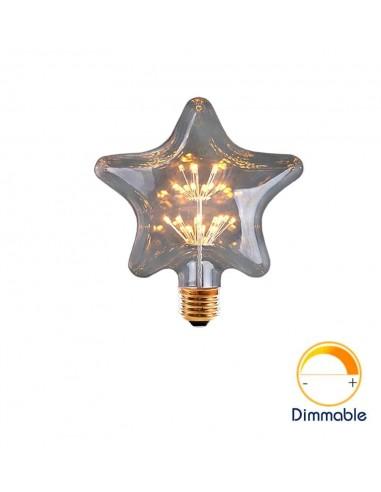 Светодиодная декоративная лампа Star Firework E27 3W 2200K