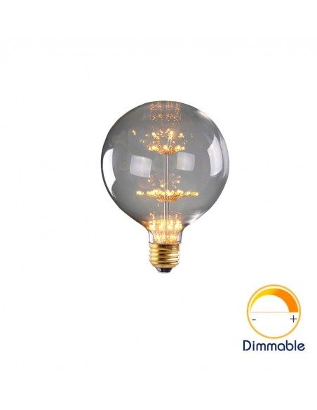 Светодиодная декоративная лампа G125 Firework E27 3W 2200K
