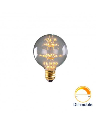 Светодиодная декоративная лампа G95 Firework E27 3W 2200K