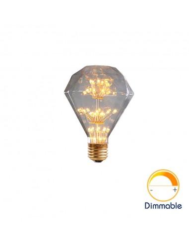 Светодиодная декор лампа G95 Diamond Firework E27 3W 2200K