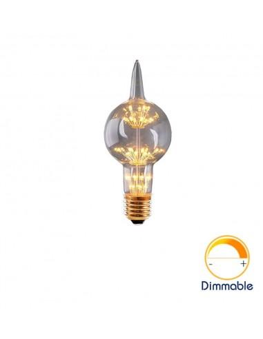 Светодиодная декор лампа G80 Alien Firework E27 3W 2200K