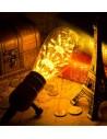 Пример свечения светодиодной декоративной лампы ST64 Firework E27 3W 2200K