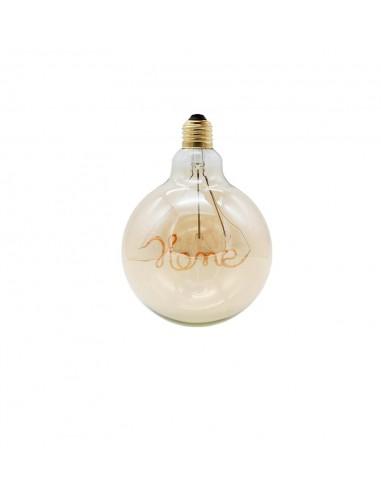 Светодиодная филаментная лампа G125 Design HOME E27 4W 2200K