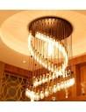 Пример свечения светодиодной филаментной лампы ST64 Retro E27 4W 6W 8W