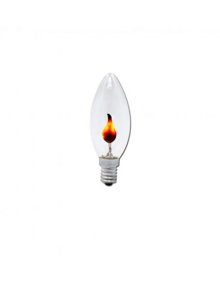 Светодиодная лампа мерцающий огонь C35 FlickerFire E14 3W