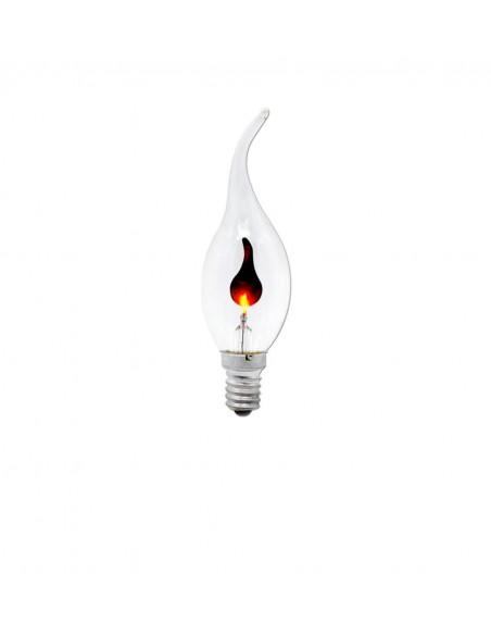 Светодиодная лампа мерцающая свеча C35L FlickerCandle E14 3W