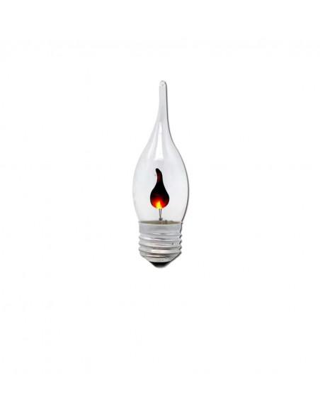 Светодиодная лампа мерцающая свеча C35L FlickerCandle E27 3W